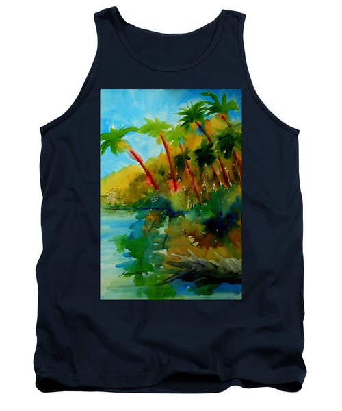Tropical Canal Tank Top