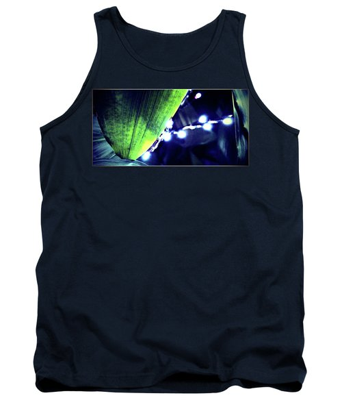 Tank Top featuring the digital art Tropical Night by Mindy Newman