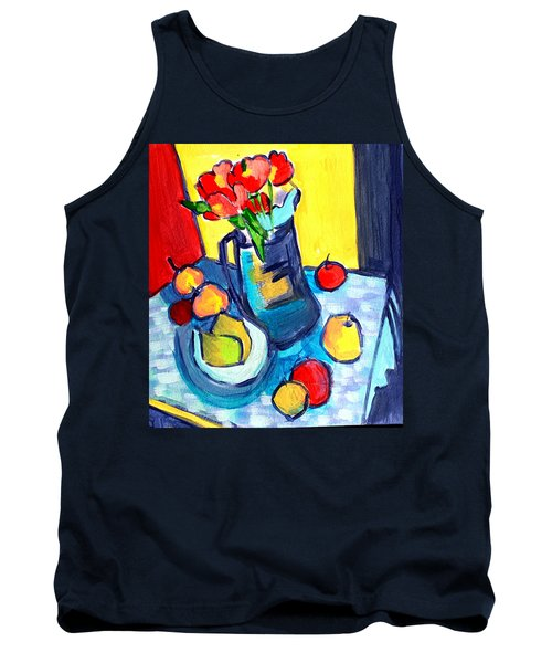 Tulip Still Life Tank Top