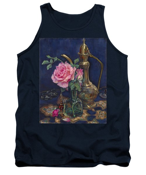 Turkish Rose Tank Top