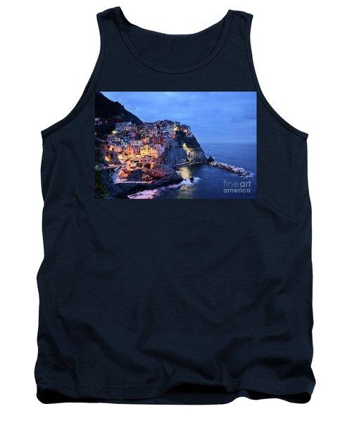 Tuscany Like Amalfi Cinque Terre Evening Lights Tank Top