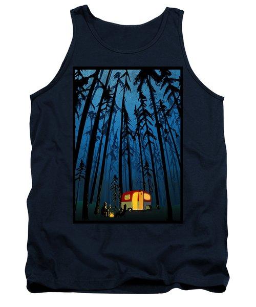 Twilight Camping Tank Top