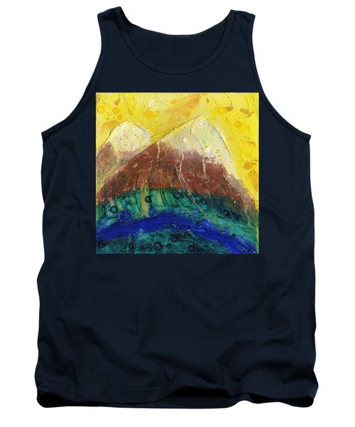 Twin Peaks I Tank Top by Phil Strang