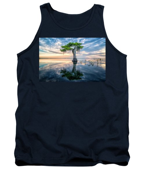 Twisted Cypress Mirror Tank Top