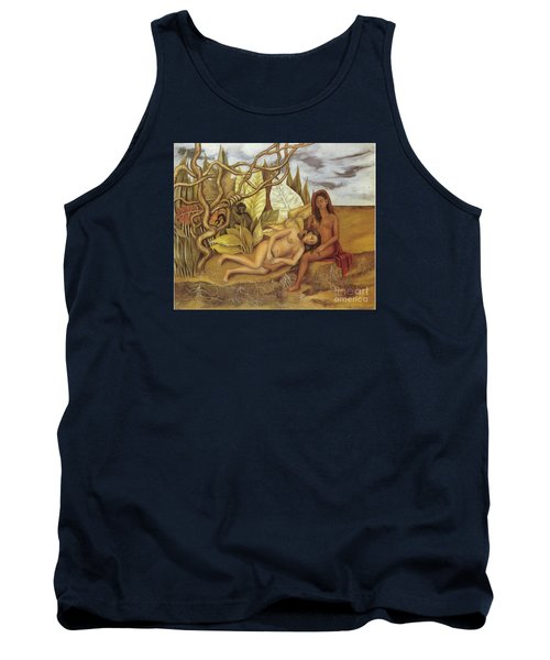 Two Nudes In The Forest Tank Top by Frida Kahlo
