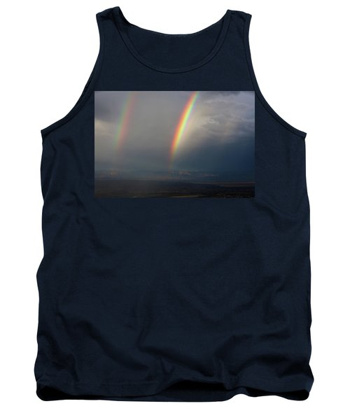 Two Rainbows Tank Top