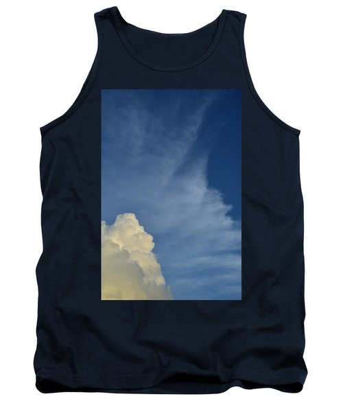 Two Tone Clouds 9384 Tank Top