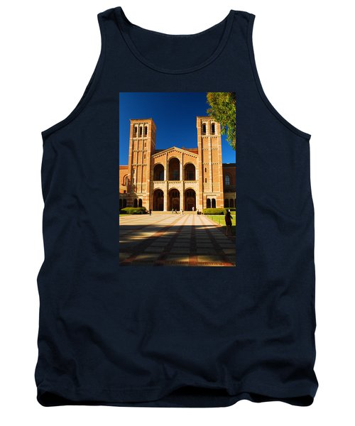 Tank Top featuring the photograph Ucla by James Kirkikis