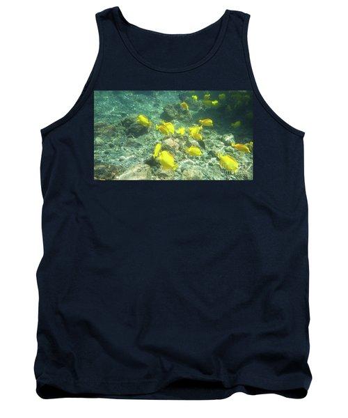 Underwater Yellow Tang Tank Top