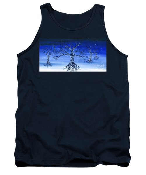 Tank Top featuring the painting Underworld by Kenneth Clarke