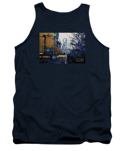 Union Pacific 1474 Tank Top by David Blank