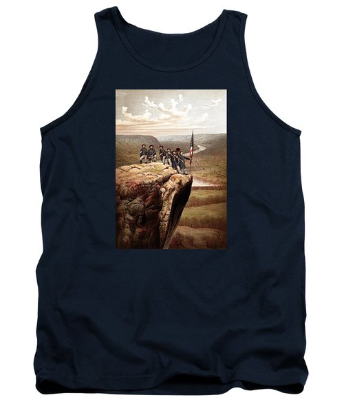 Union Soldiers On Lookout Mountain Tank Top