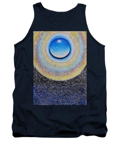 Universal Eye In Blue Tank Top