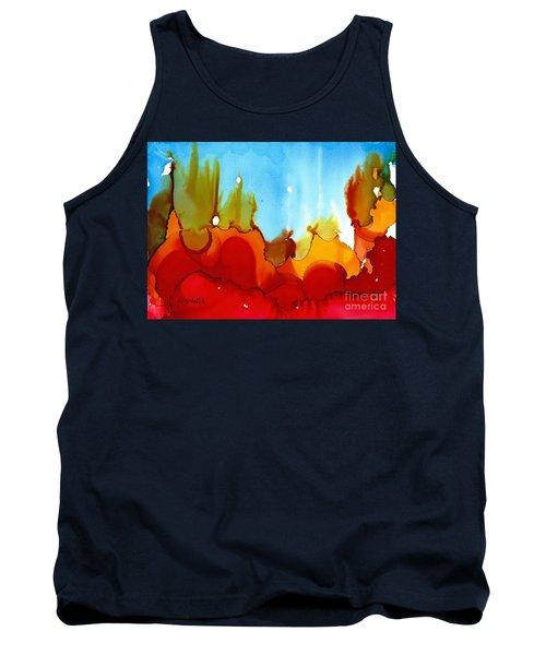 Up In Flames Tank Top by Yolanda Koh