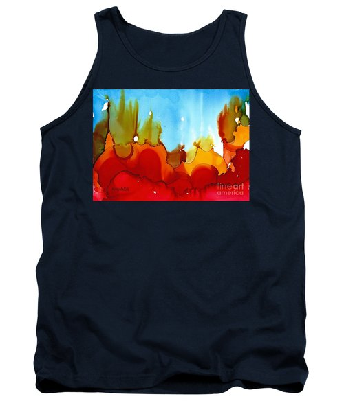 Up In Flames Tank Top