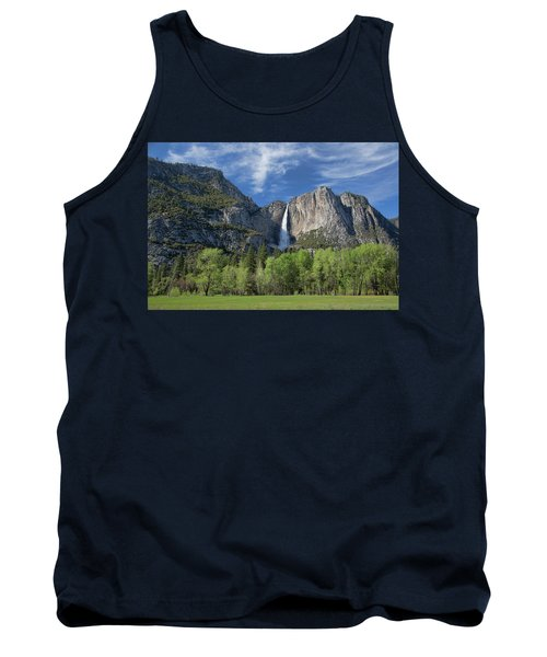 Upper Yosemite Falls In Spring Tank Top