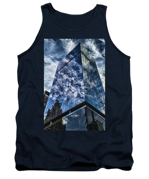 Urban Clouds Reflecting  Tank Top