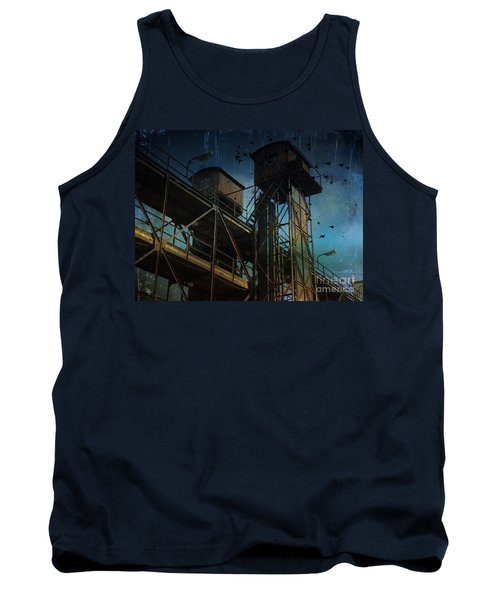 Tank Top featuring the photograph Urban Past by Ivana Westin