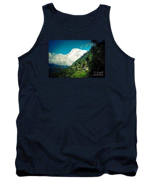 Valley Himalayas Mountain Nepal Tank Top