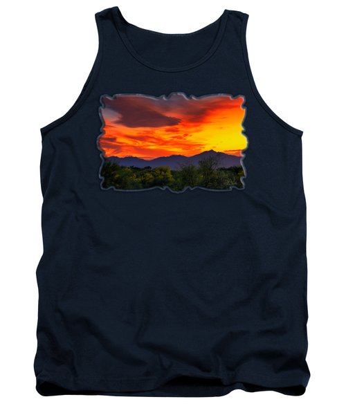 Valley Sunset H32 Tank Top by Mark Myhaver
