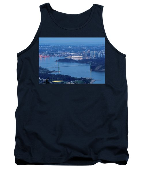 Vancouver Harbour Late Afternoon Tank Top