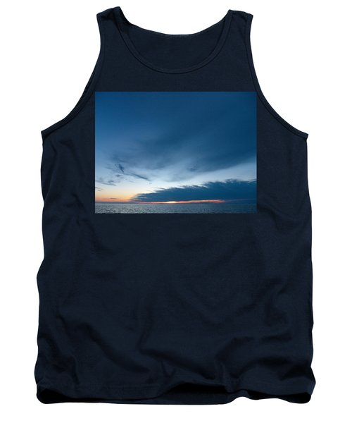 Tank Top featuring the photograph Variations Of Sunsets At Gulf Of Bothnia 4 by Jouko Lehto