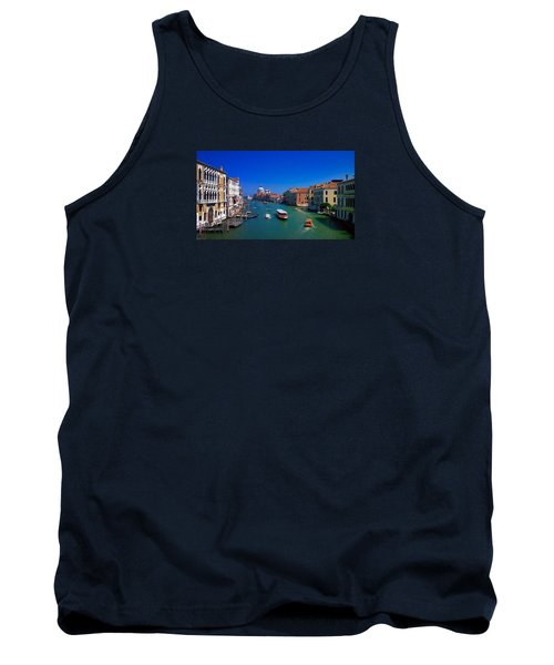 Tank Top featuring the photograph Venetian Highway by Anne Kotan