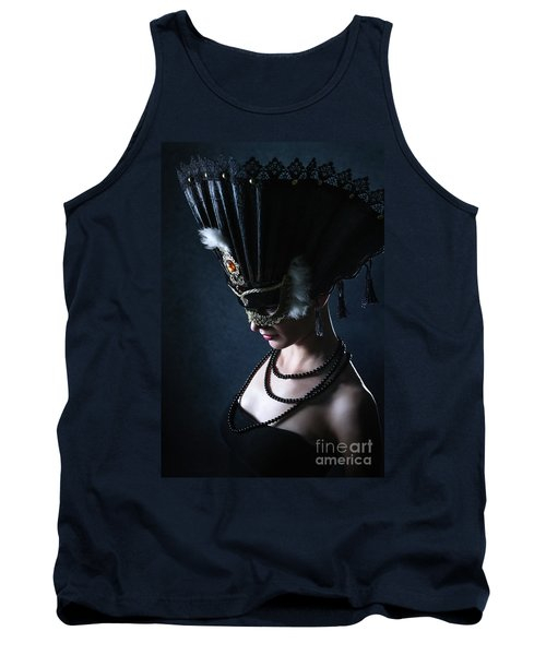 Tank Top featuring the photograph Venice Carnival Mask by Dimitar Hristov