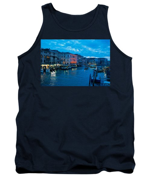 Tank Top featuring the photograph Venice Evening by Eric Tressler