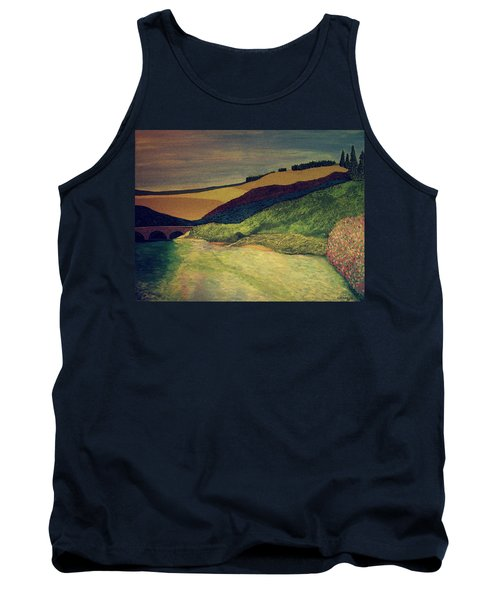 Vetheuil At Dawn Tank Top