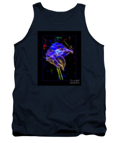 Vibrant Orchid Tank Top by Darleen Stry
