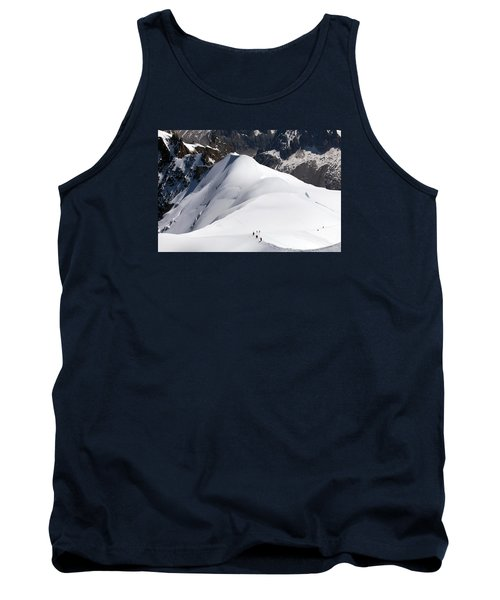 View From Aguille Du Midi Tank Top by Aivar Mikko