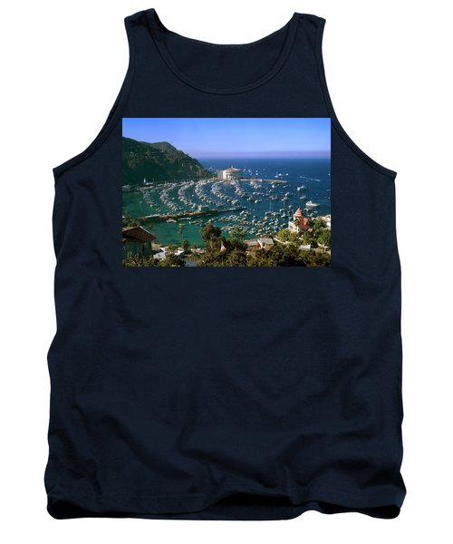 View Of Avalon Harbor Tank Top