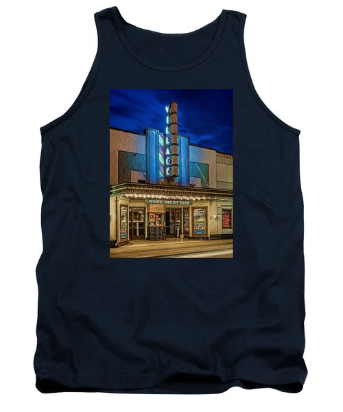 Village Theater Tank Top by Jerry Gammon