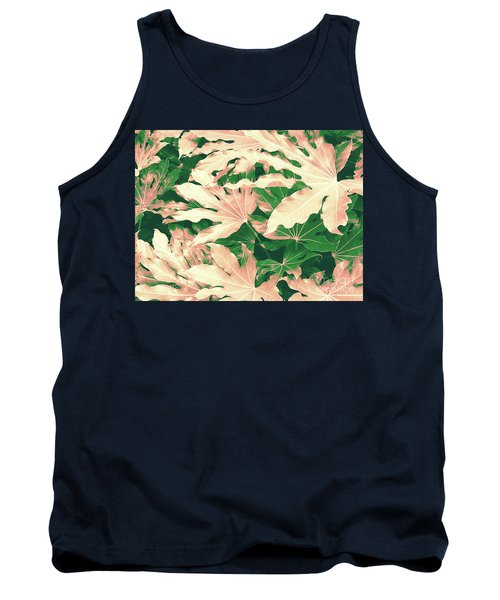 Tank Top featuring the photograph Vintage Season Pink by Rebecca Harman