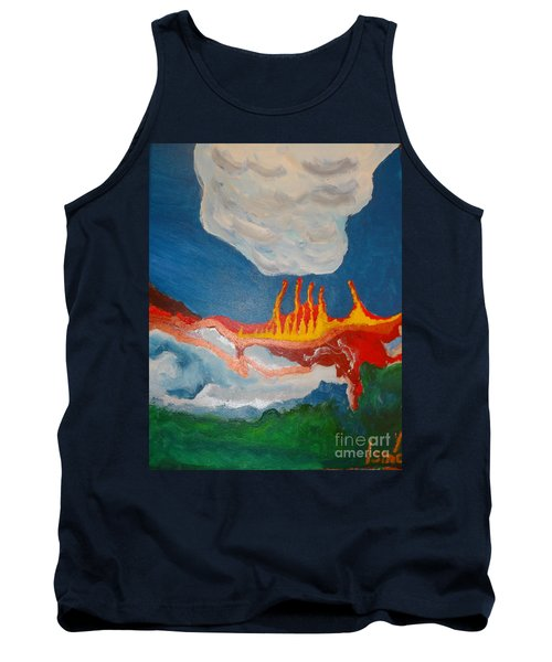 Volcanic Action Tank Top