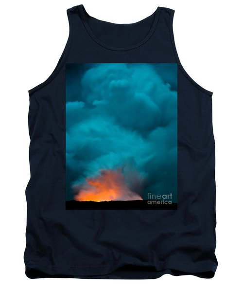 Volcano Smoke And Fire Tank Top