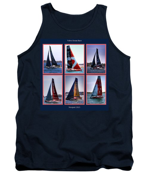 Volvo Ocean Race Newport 2015 Tank Top by Tom Prendergast