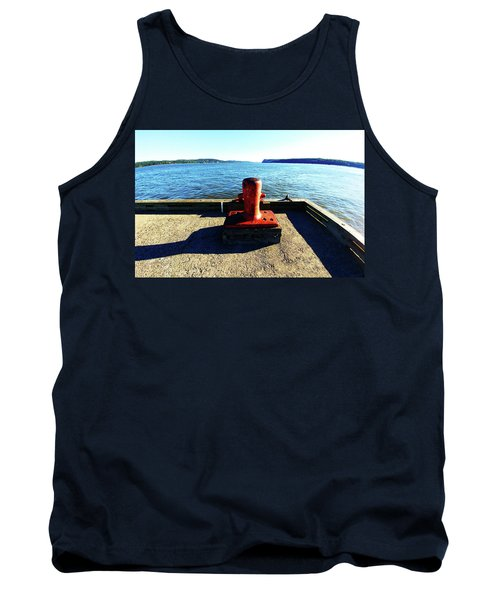 Waiting For The Ship To Come In. Tank Top