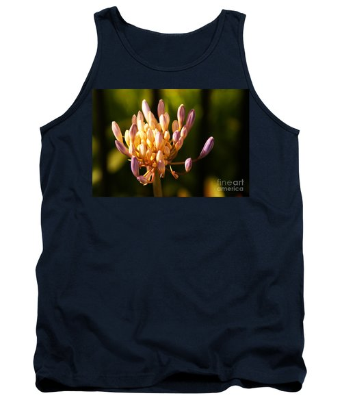 Waiting To Blossom Into Beauty Tank Top by Linda Shafer
