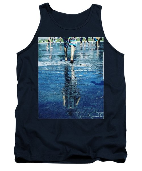 Walking On The Water Tank Top