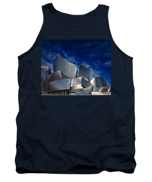 Walt Disney Concert Hall Tank Top by Anthony Dezenzio