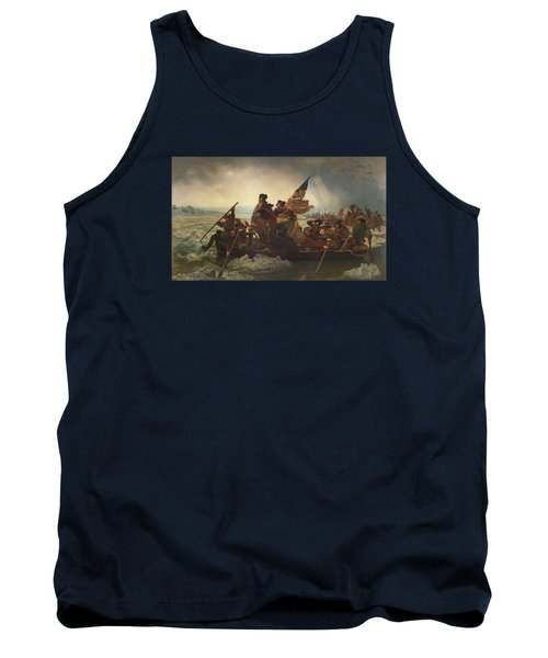 Washington Crossing The Delaware Painting  Tank Top