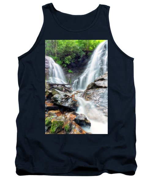 Waterfall Silence Tank Top