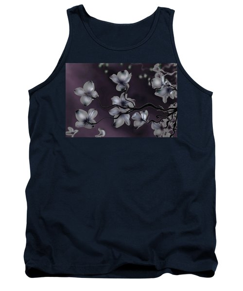 Wave Japanese Art Tank Top by Gray  Artus