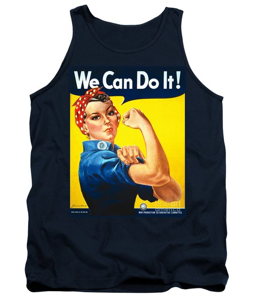 We Can Do It Rosie The Riveter Poster Tank Top