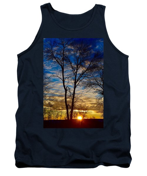 Weekend Sunrise In Minnesota Tank Top