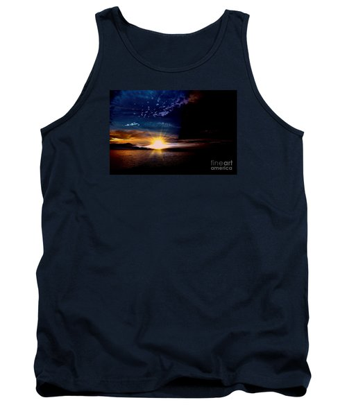 Welcome Beach 2015 3 Tank Top by Elaine Hunter