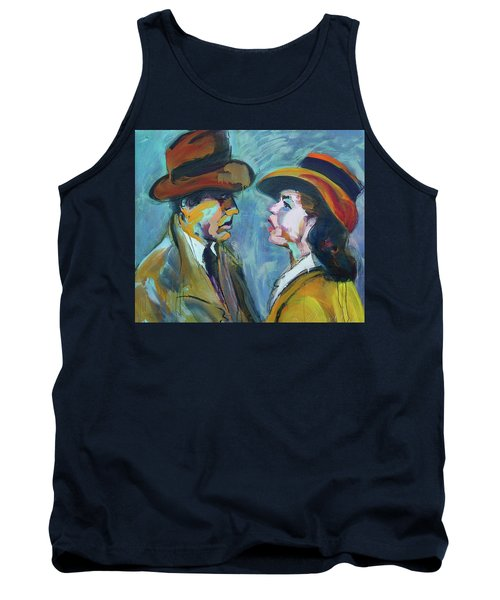 We'll Always Have Paris Tank Top by Les Leffingwell