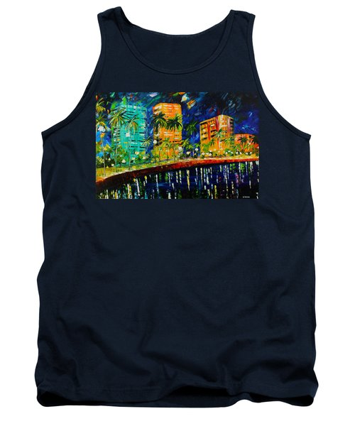 West Palm At Night Tank Top